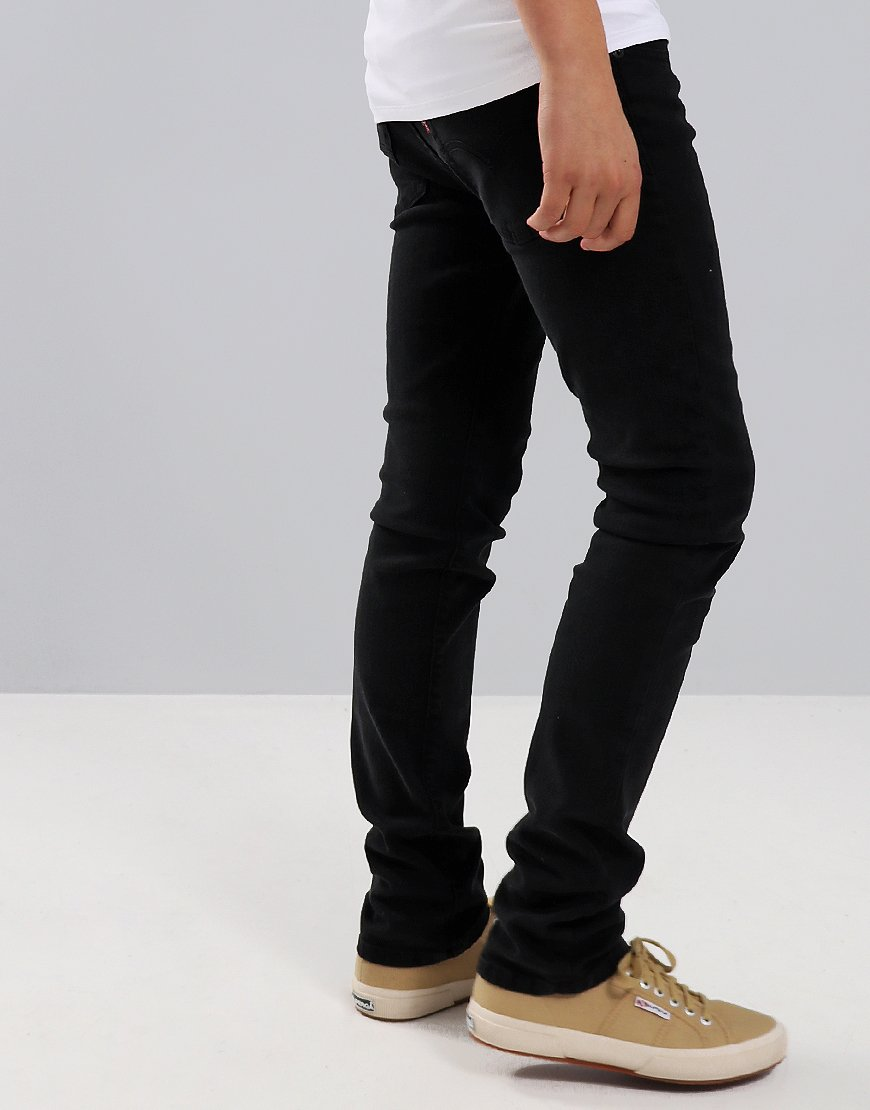 Levi's Kids 510 Skinny Fit Jeans Black