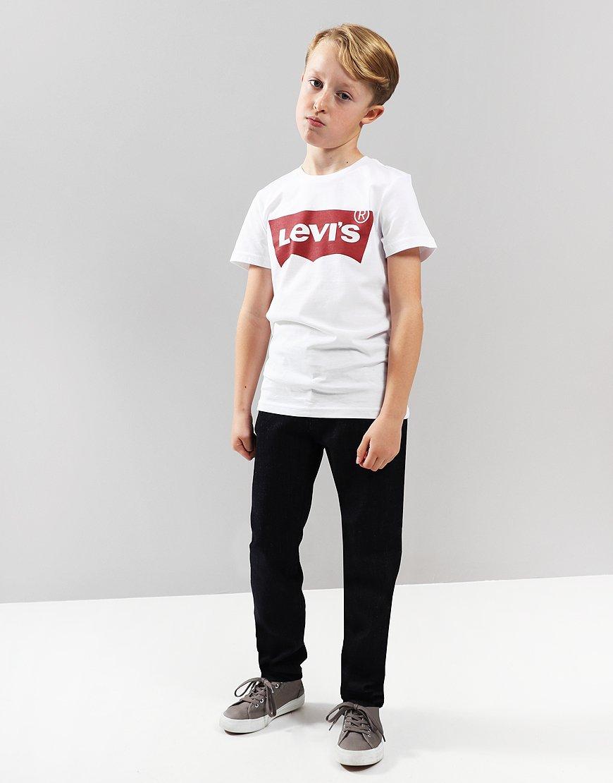 Levi's Kids Logo Print T-Shirt White