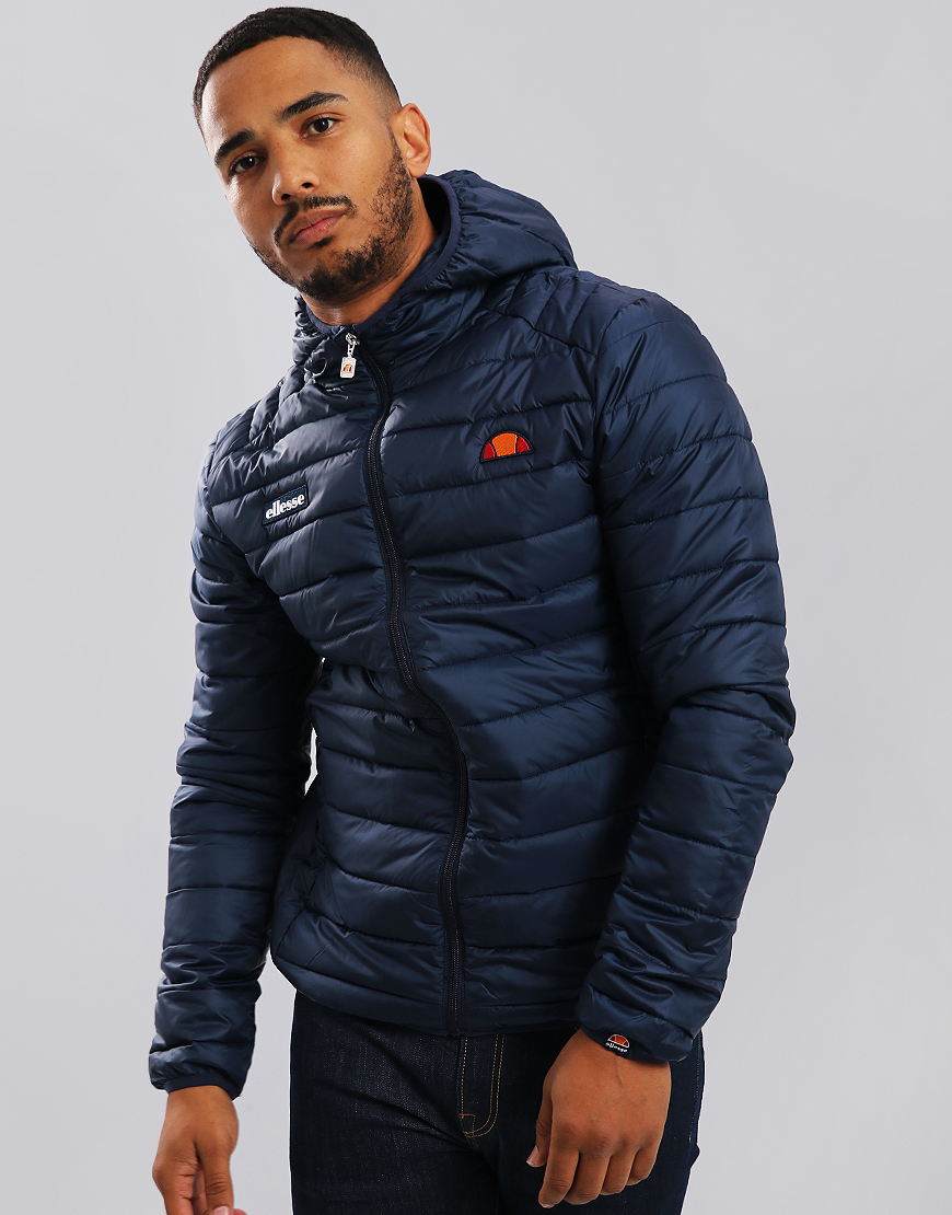Ellesse Lombardy Puffer Jacket Dress Blues
