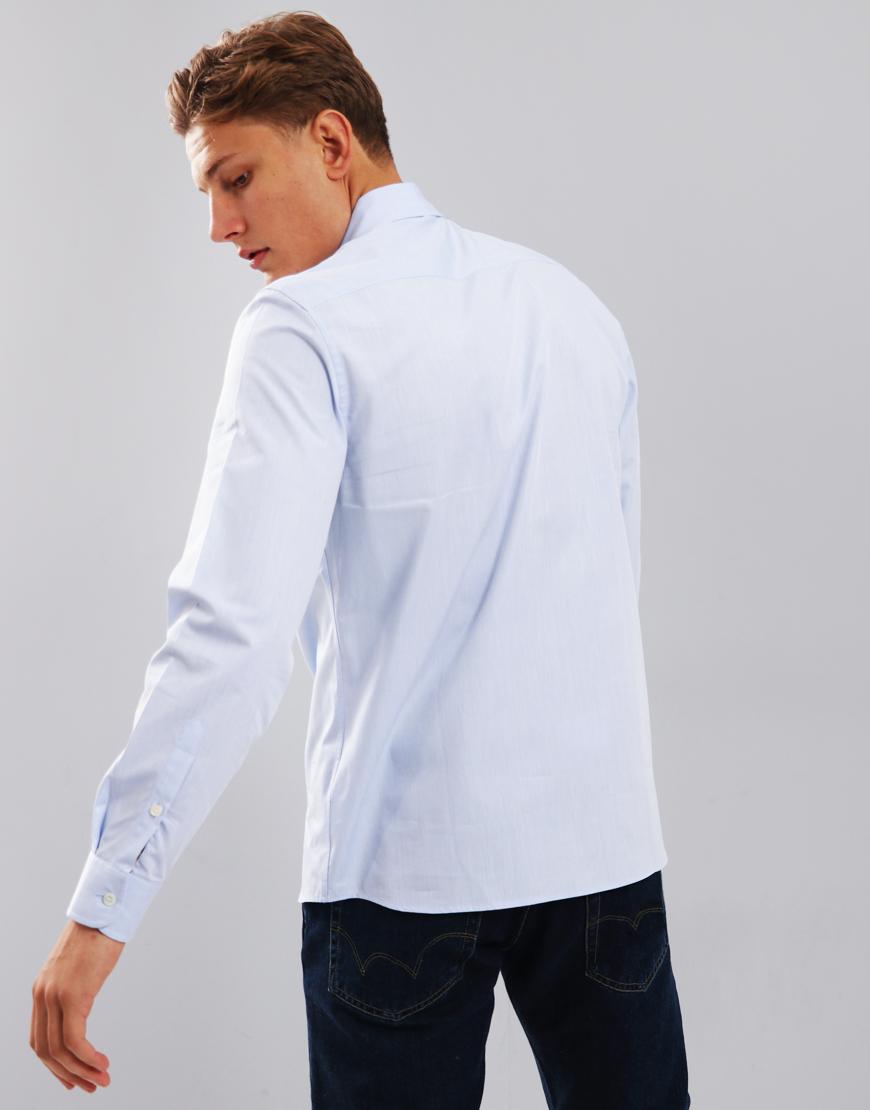 9ba15f5367e Aquascutum Casper Poplin Shirt Sky Blue