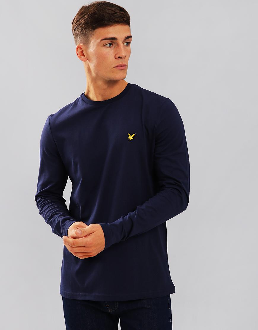Lyle & Scott Long Sleeve T-Shirt Navy