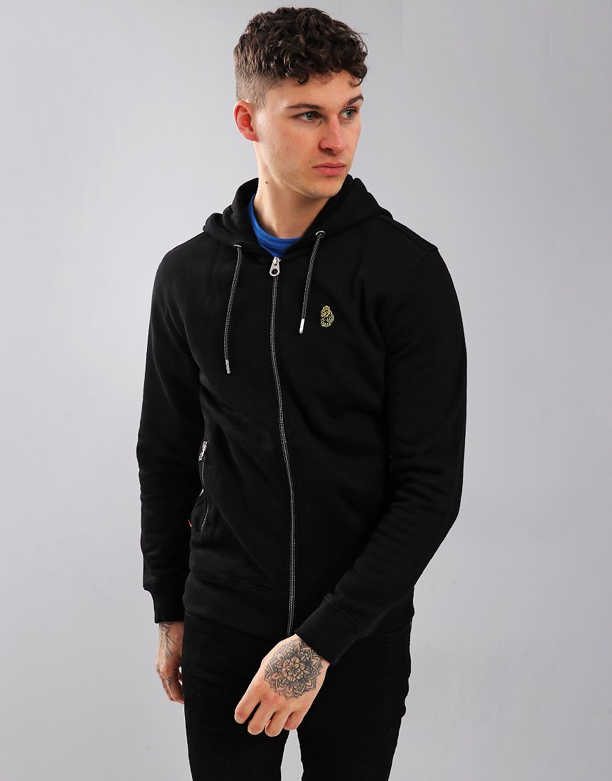 Luke 1977 Berlin 2 Zip Sweat Black