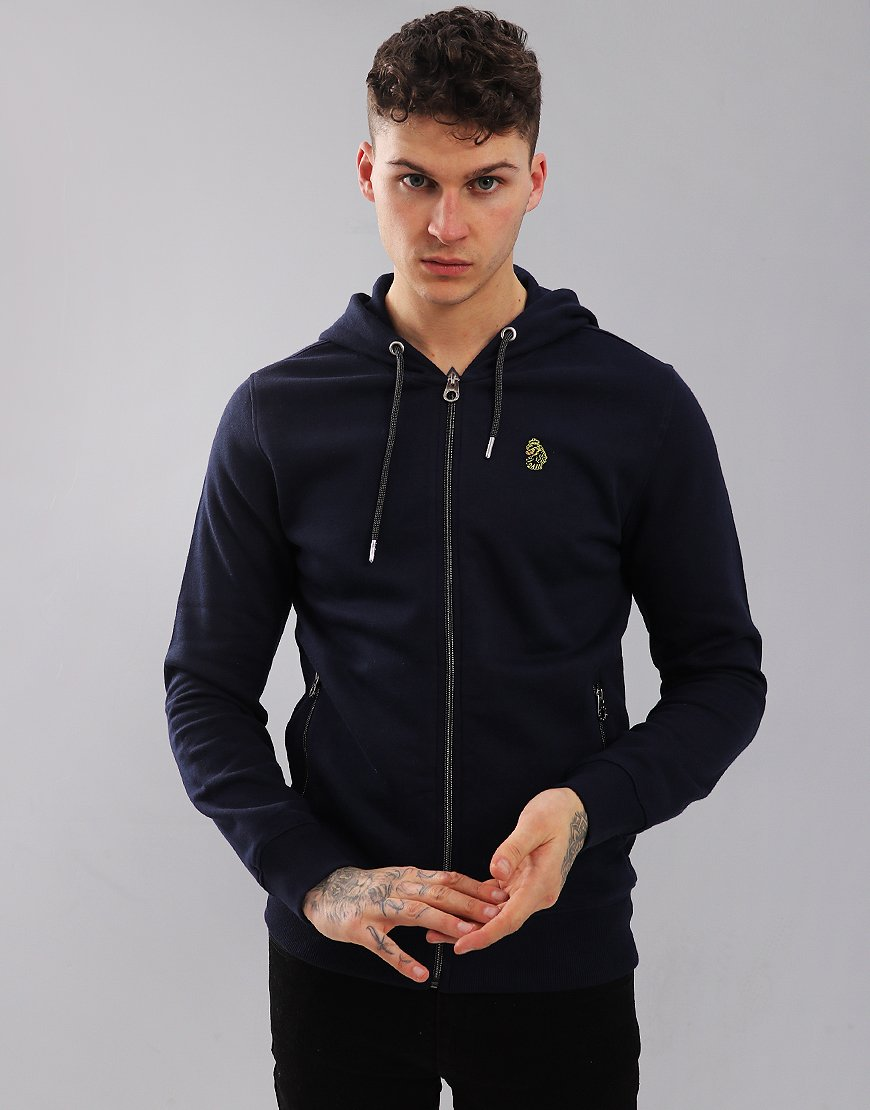 Luke 1977 Berlin 2 Zip Sweat Navy