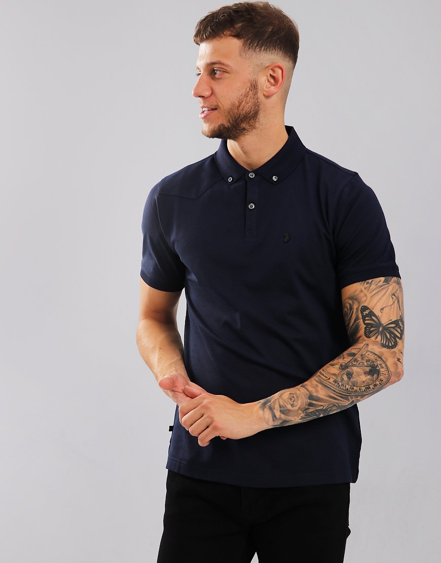 Luke 1977 Billiam Polo Shirt Dark Navy