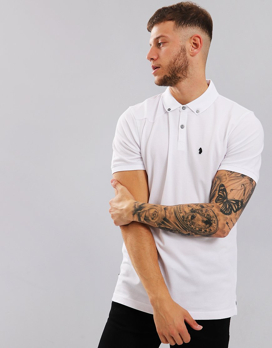 Luke 1977 Billiam Polo Shirt White