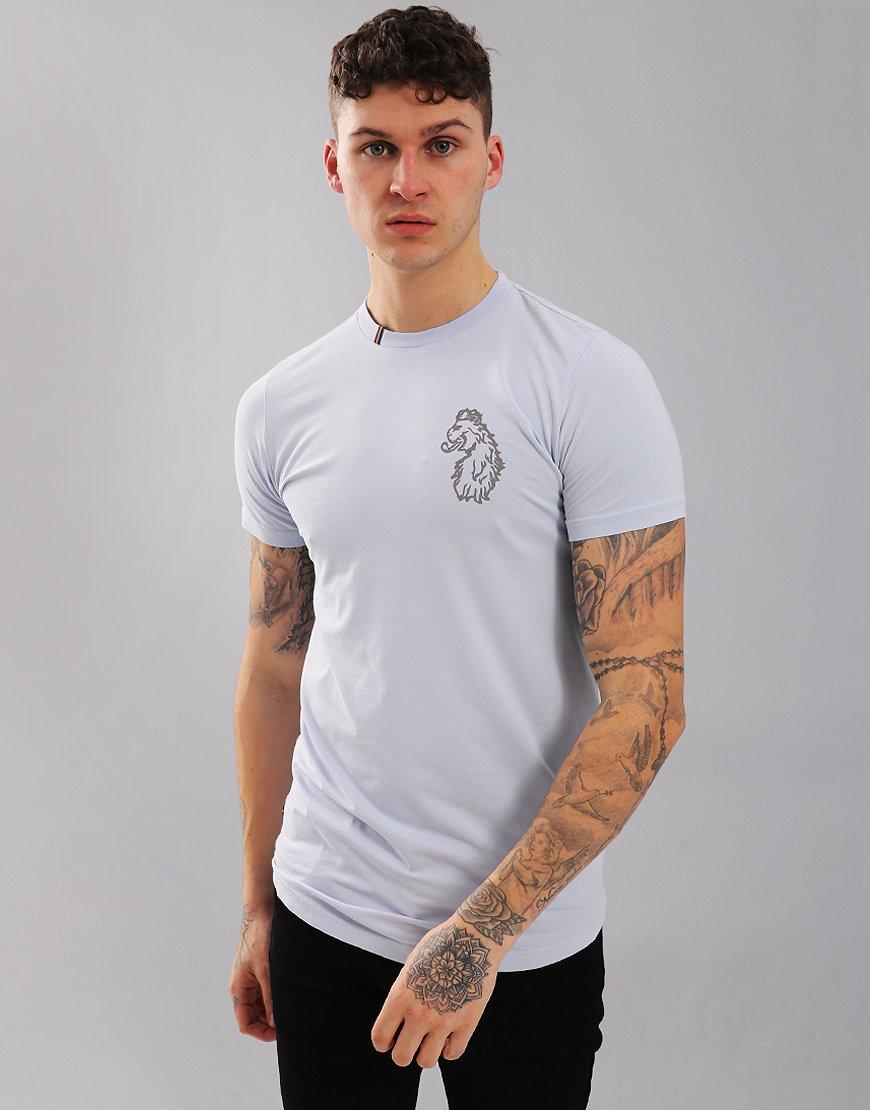 084aaadf Luke 1977 Bowen 2 T-shirt Baby Blue - Terraces Menswear