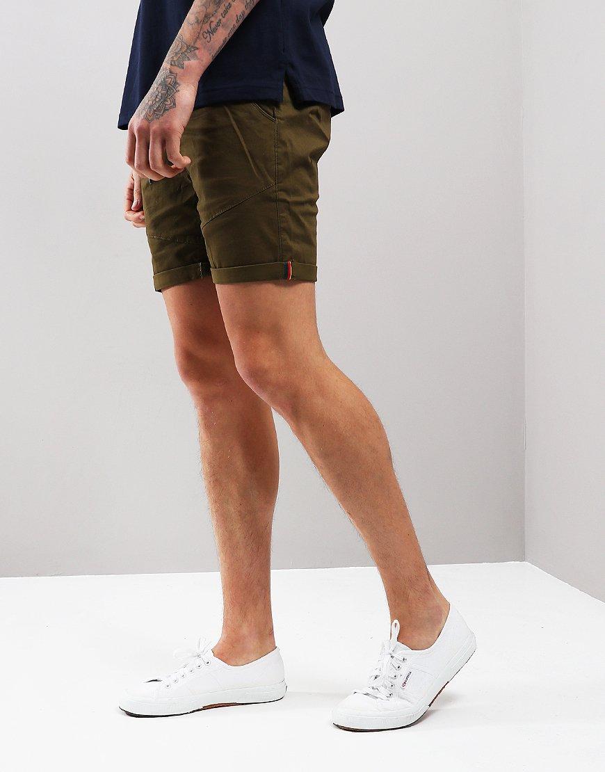 Luke 1977 Corcombat Shorts Khaki