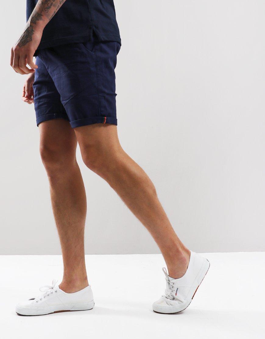 Luke 1977 Corcombat Shorts Navy
