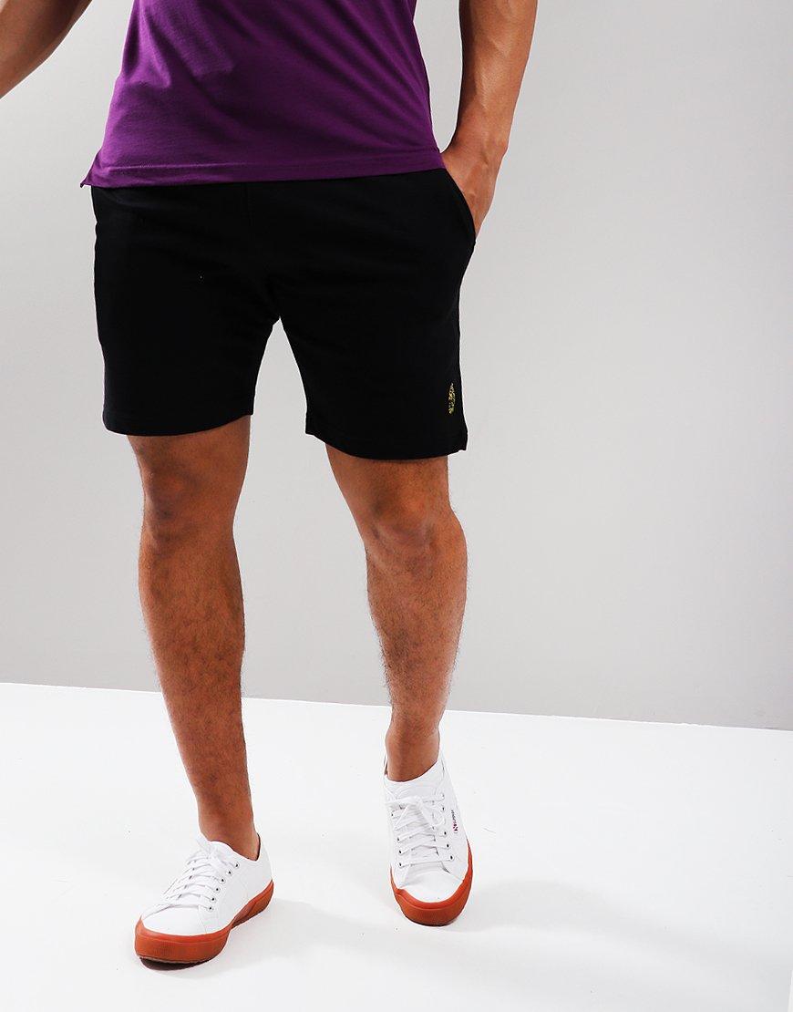 Luke 1977 Get Shorty Fleece Shorts Black
