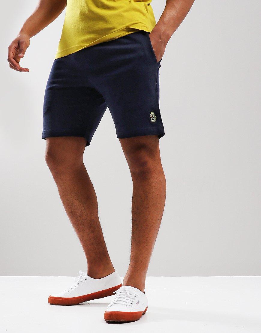 Luke 1977 Get Shorty Fleece Shorts Navy