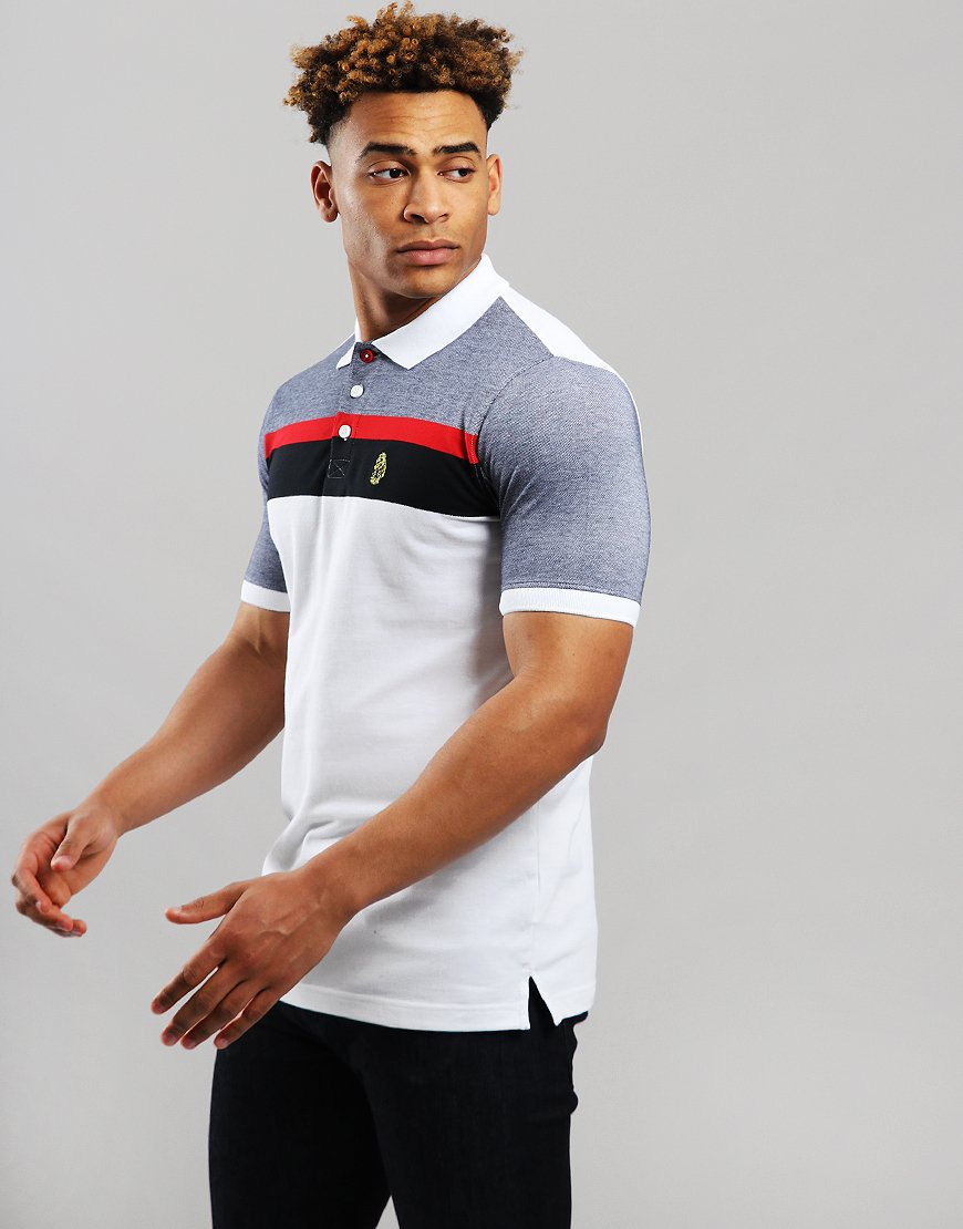 Luke 1977 Grayson Polo Shirt White