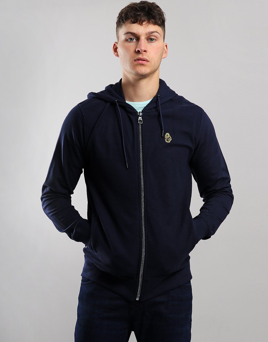 Luke 1977 Guy Hooded Sweat Navy