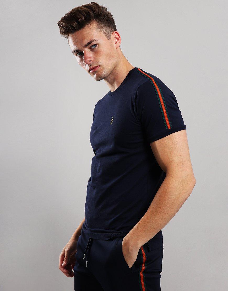 Luke 1977 Iron Tape T-Shirt Dark Navy