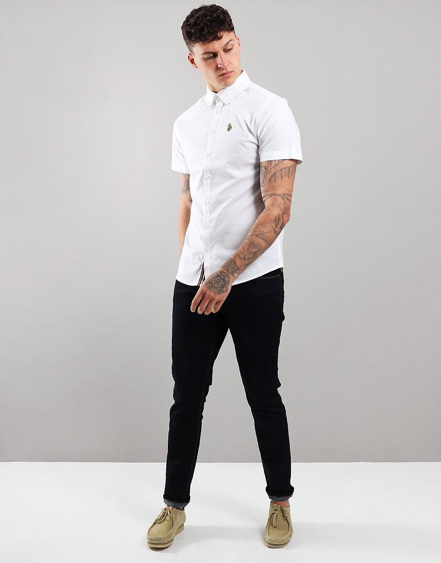 Luke 1977 Jimmy Stretch Shirt White