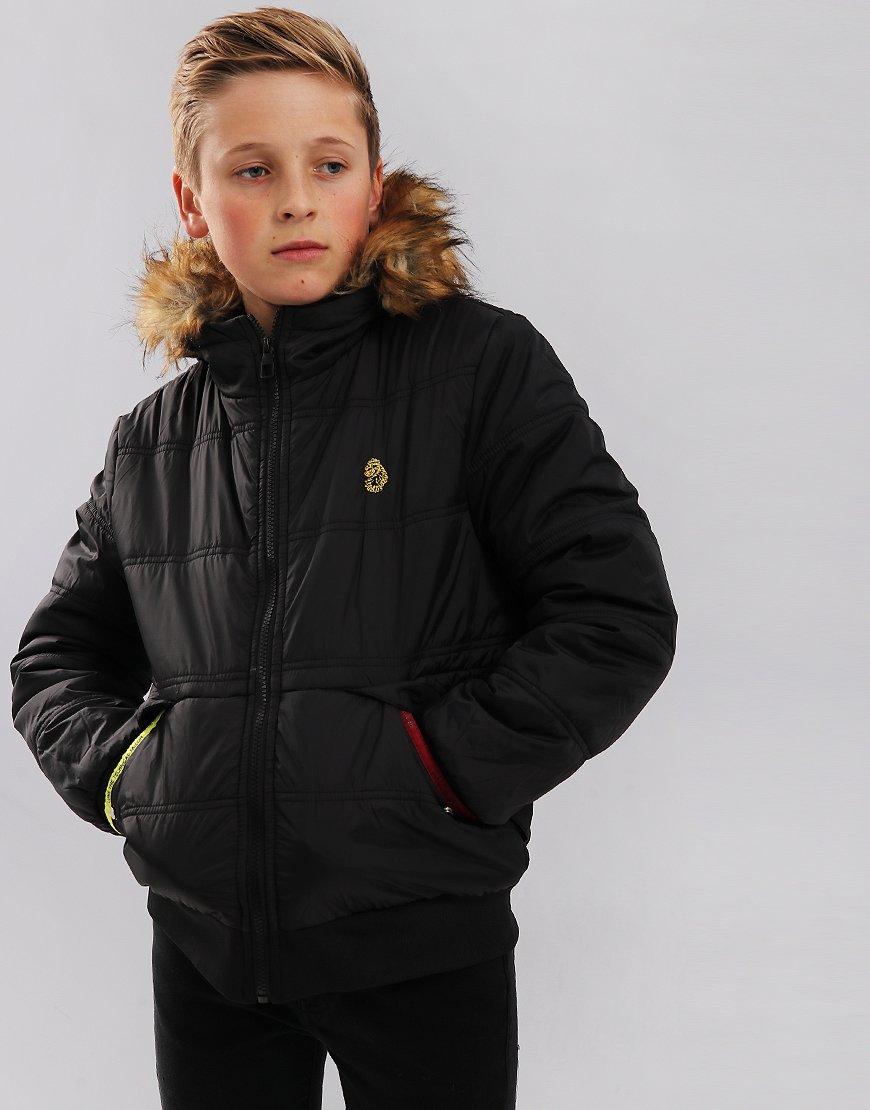 Luke Kids Forest Quilted Jacket Jet Black