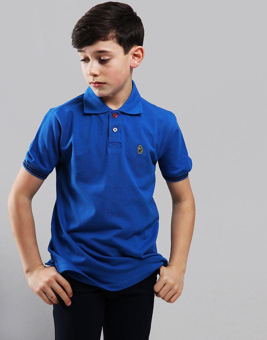 bb8d1d7e2 Luke 1977 Kids New Mead Polo Shirt Cobalt