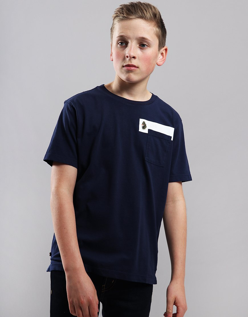 Luke 1977 Kids Pocket The Difference T-Shirt Navy