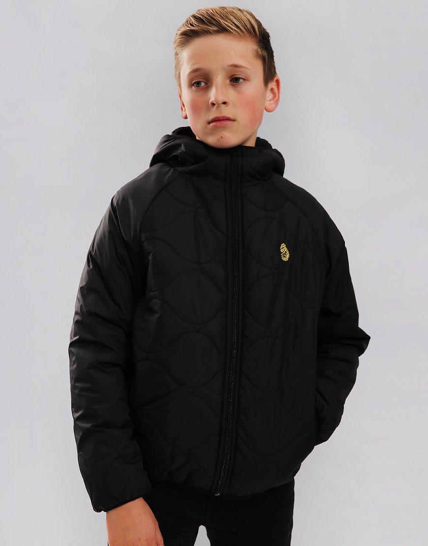 Luke Kids Roundy Quilted Jacket Black