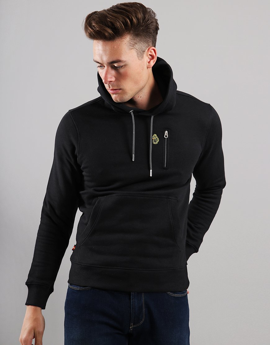 Luke 1977 Los Angeles 2 Hooded Sweat Black