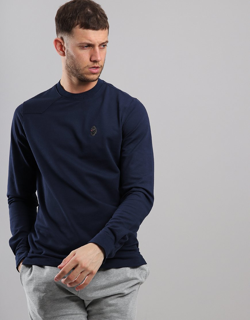 Luke 1977 Long Master Long Sleeve Sweat Navy
