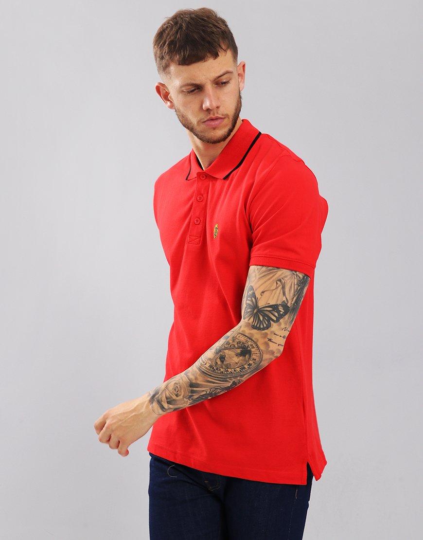 Luke 1977 Mead Polo Shirt Marina Red