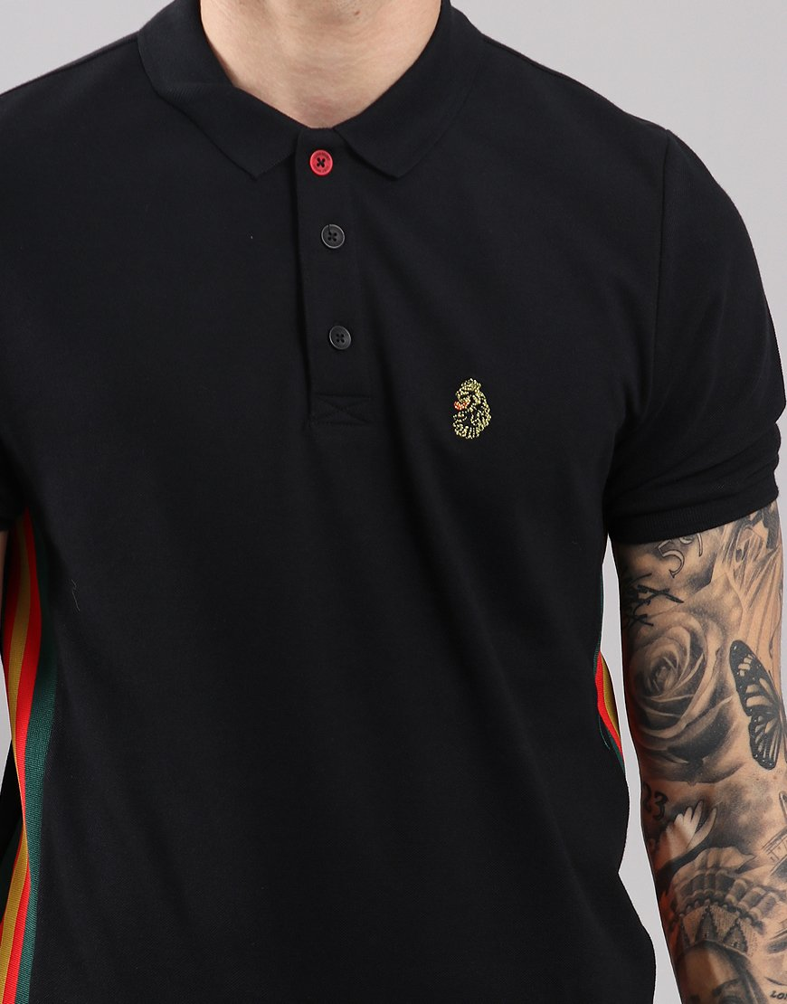 Luke 1977 Morgan Polo Shirt Black