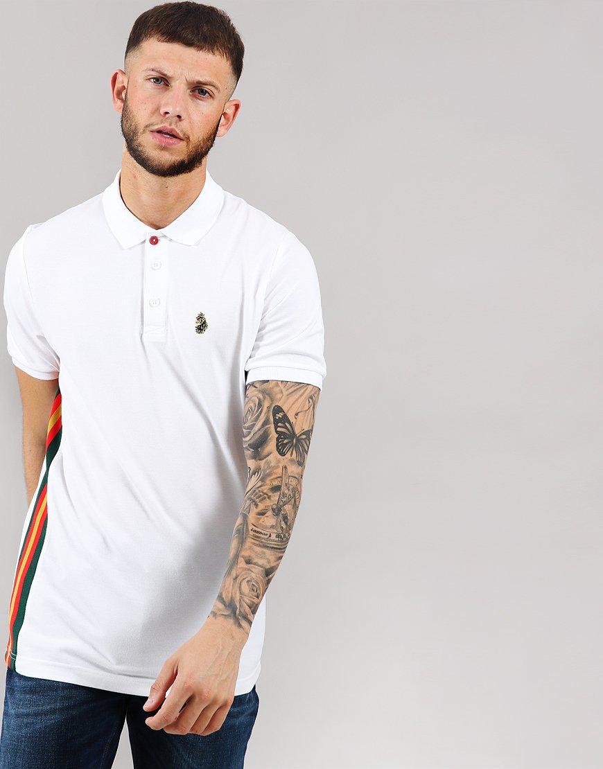 Luke 1977 Morgan Polo Shirt White