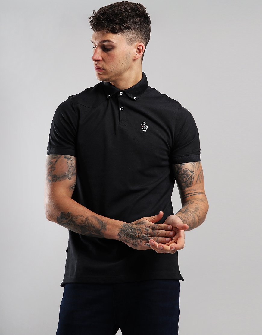 Luke 1977 New Bil Polo Shirt Black