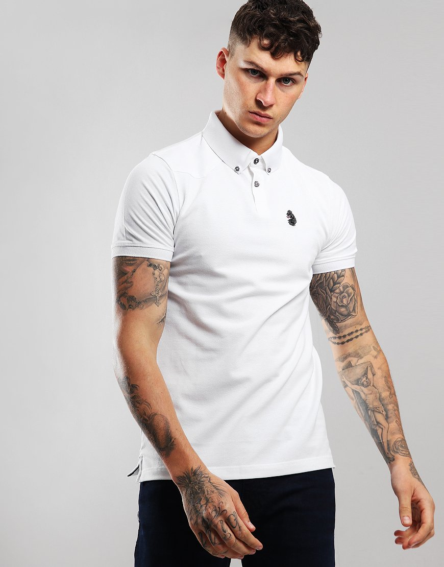 Luke 1977 New Bil Polo Shirt White
