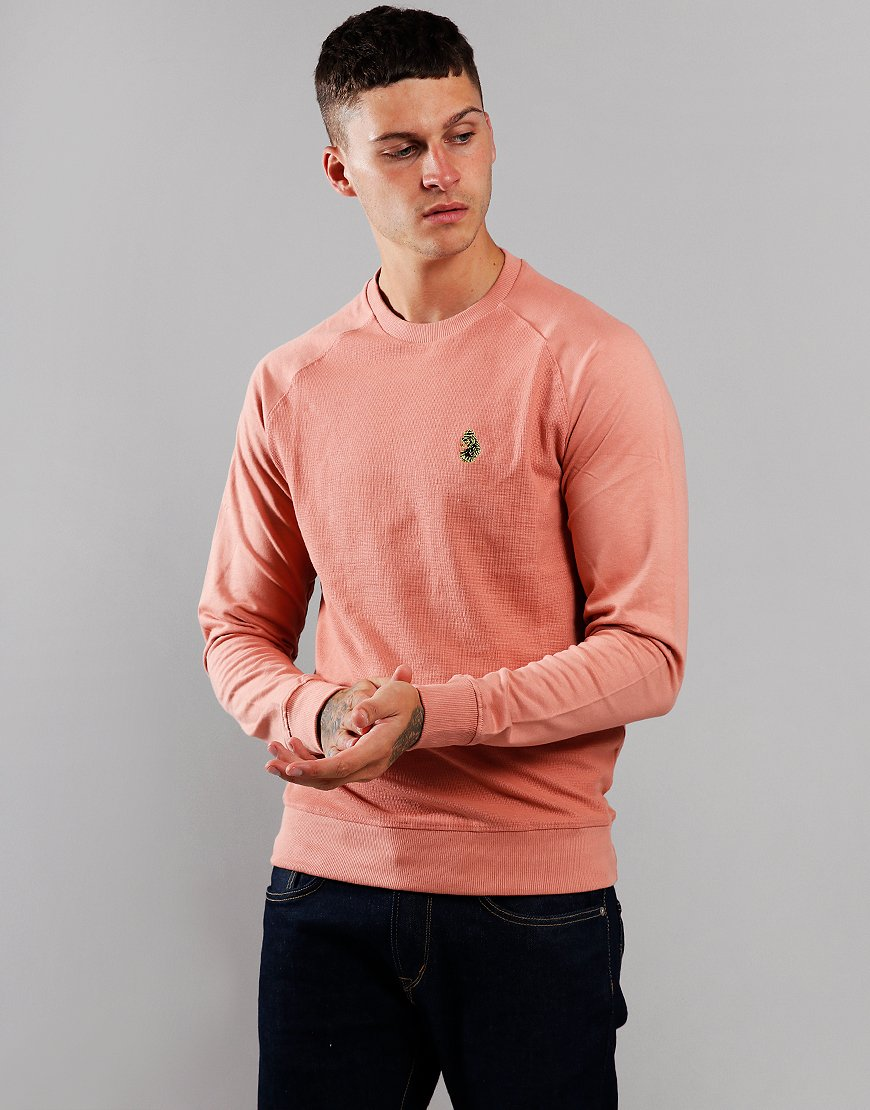 Luke 1977 New Guy Sweat Dusky Pink