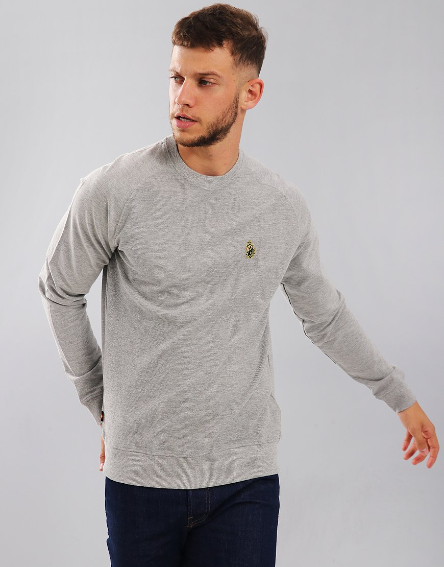 Luke 1977 New Guy Sweat Mid Marl Grey