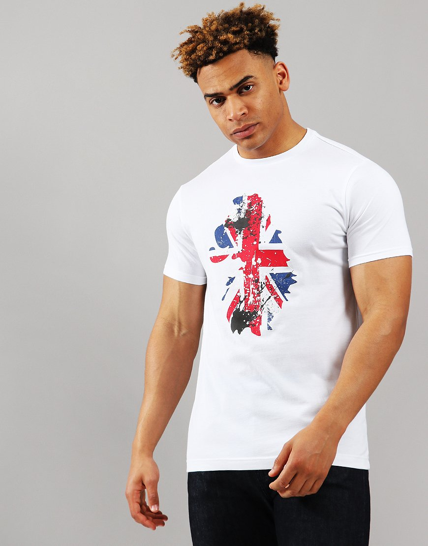 Luke 1977 Painted Brit T-Shirt White