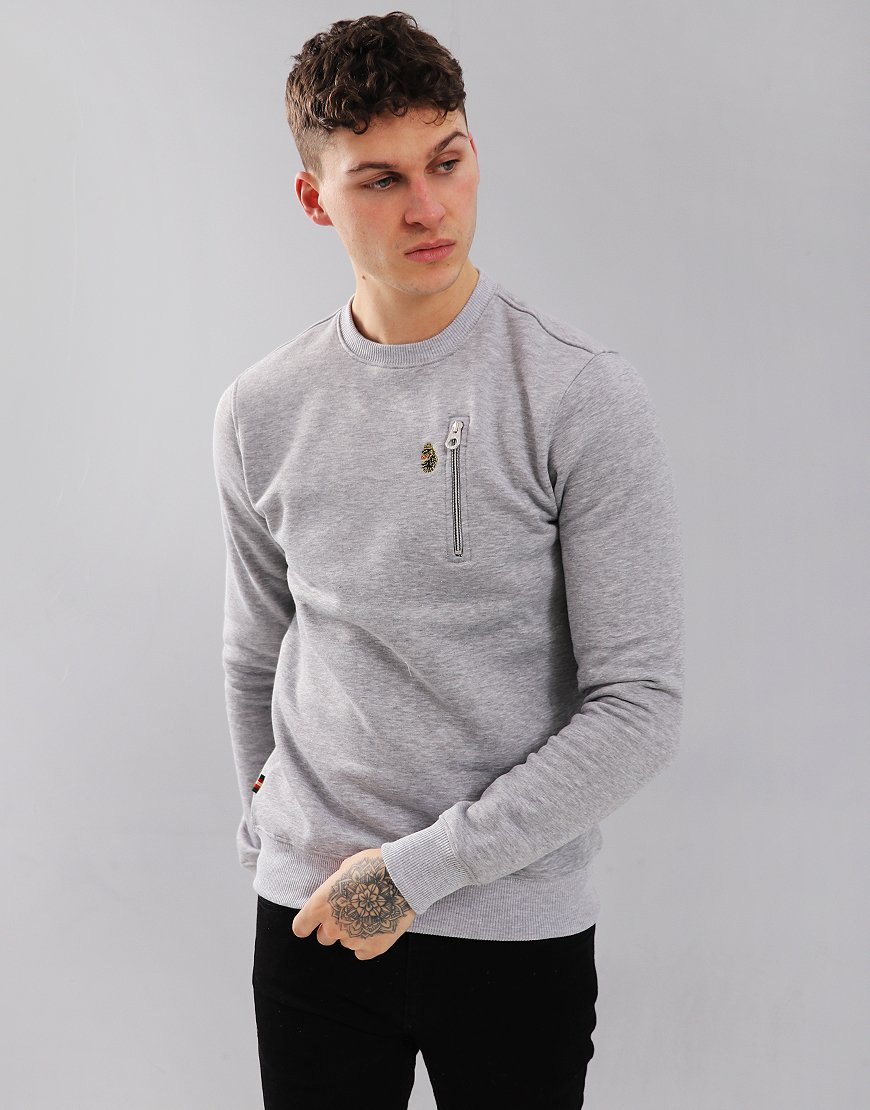 Luke 1977 Paris 2 Sweat Mid Marl Grey