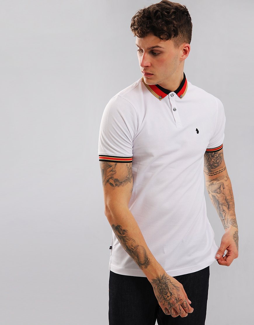 Luke 1977 Percyville Polo Shirt White
