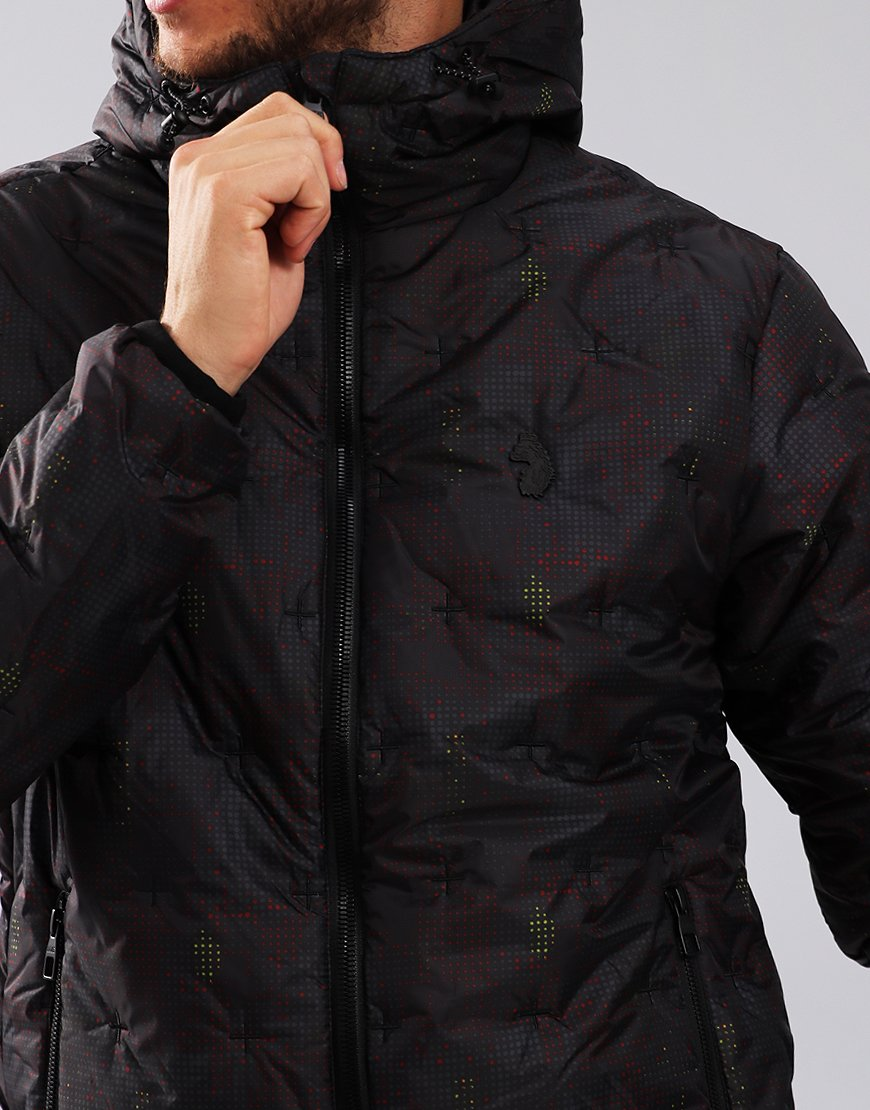 Luke 1977 Positive Forces Quilted Jacket Camo - Terraces Menswear 405b66c3f