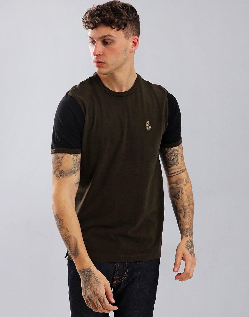 Luke 1977 Ringer T-Shirt Khaki