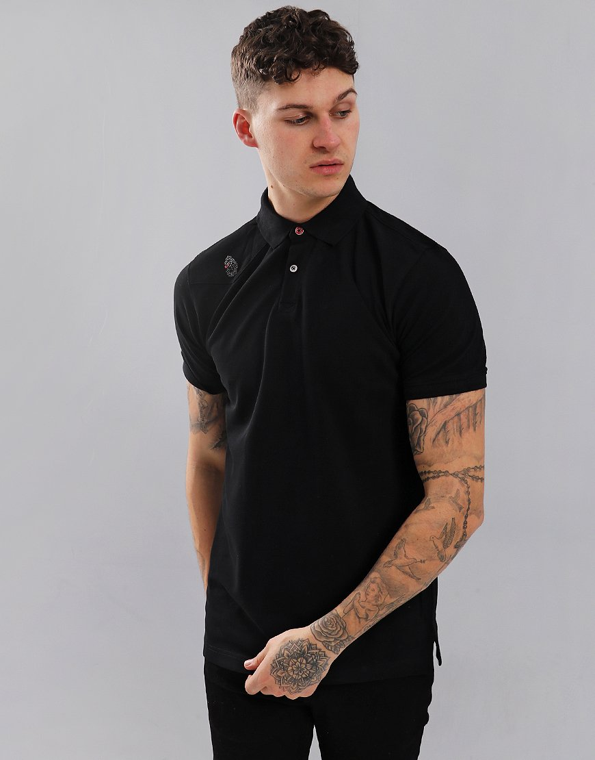 Luke 1977 Robbie H Polo Shirt Black