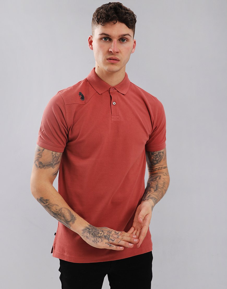 Luke 1977 Robbie H Polo Shirt Dusk
