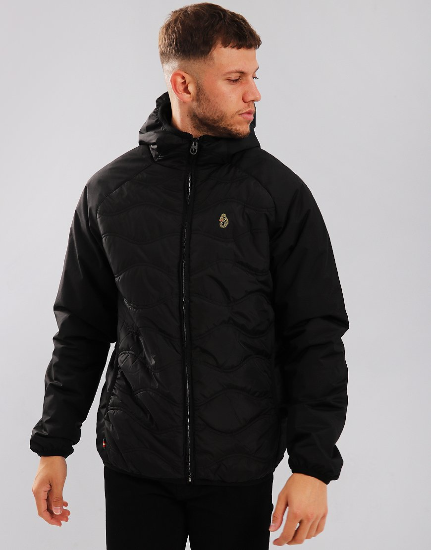 Luke 1977 Roundy Quilted Jacket Black