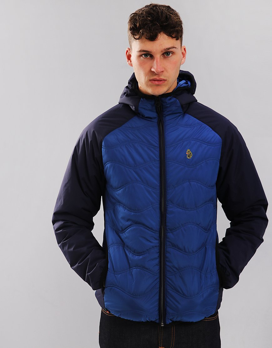 Luke 1977 Roundy Quilted Jacket Navy