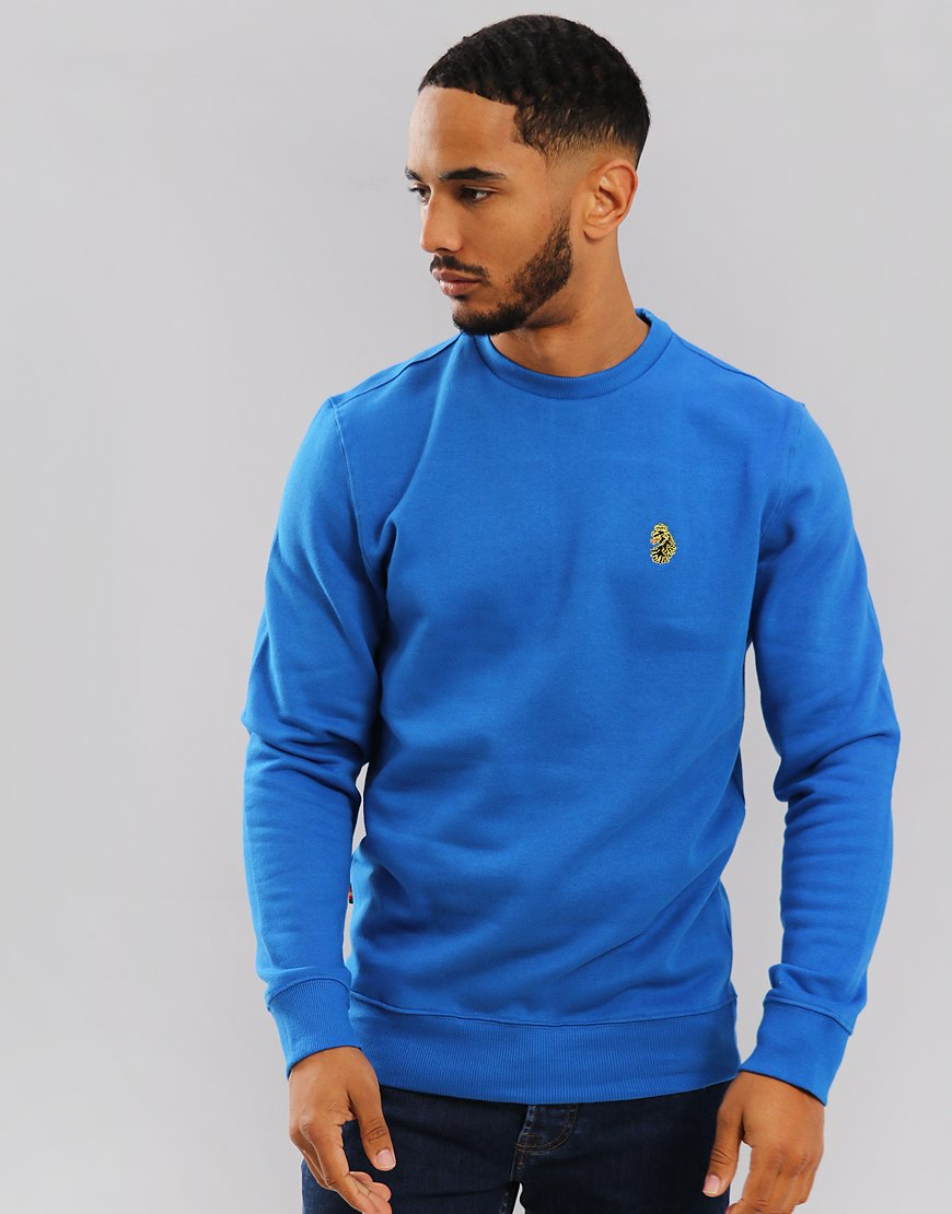 Luke 1977 The Runner Crew Sweat Cobalt