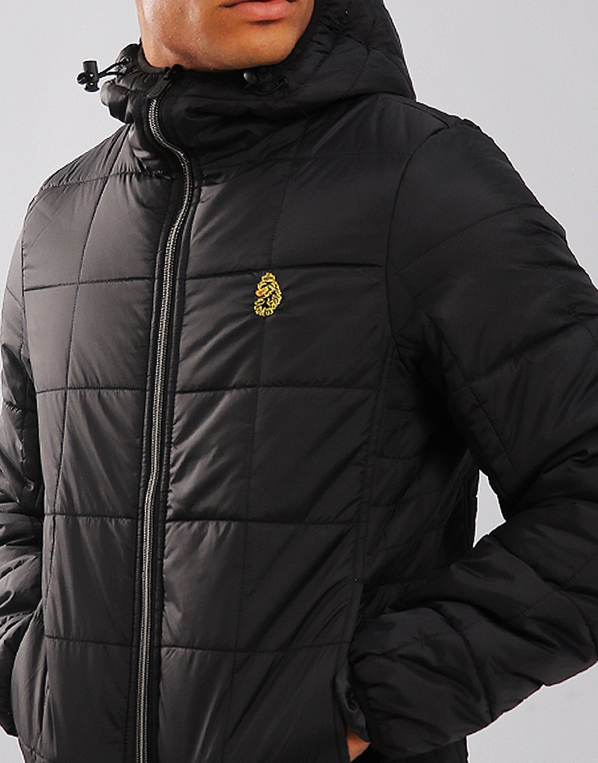 exclusive shoes official timeless design Luke 1977 Southy Padded Jacket Black - Terraces Menswear