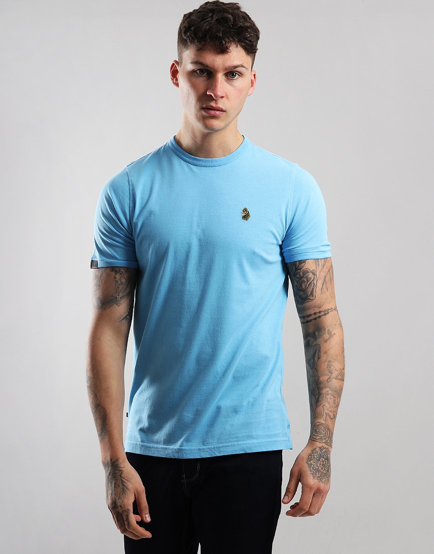 924bc168 Luke 1977 Traff Core T-Shirt Alaskan Blue