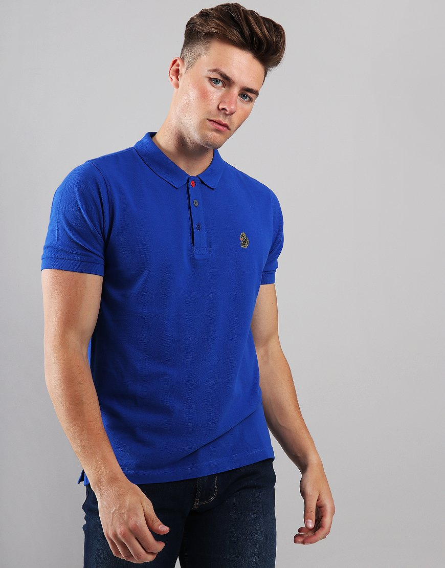 Luke 1977 Williams Polo Shirt Lux Blue