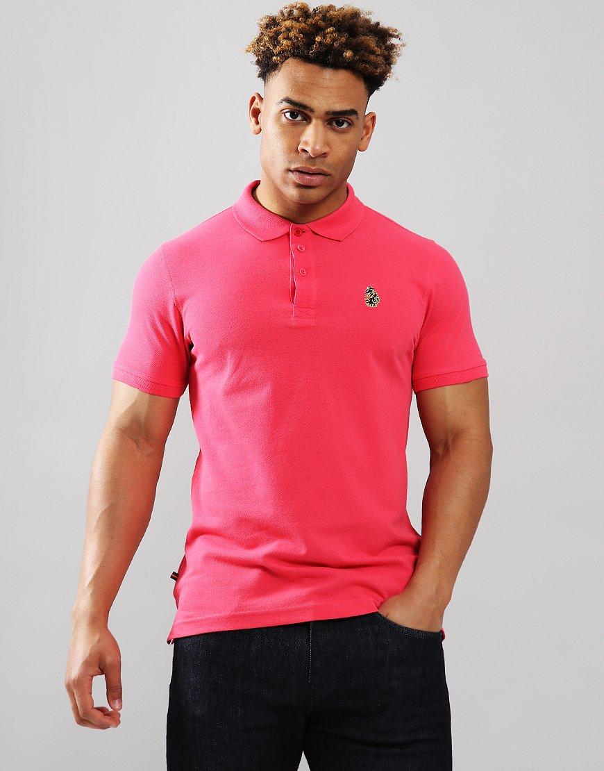 Luke 1977 Williams Polo Shirt Lux Pink