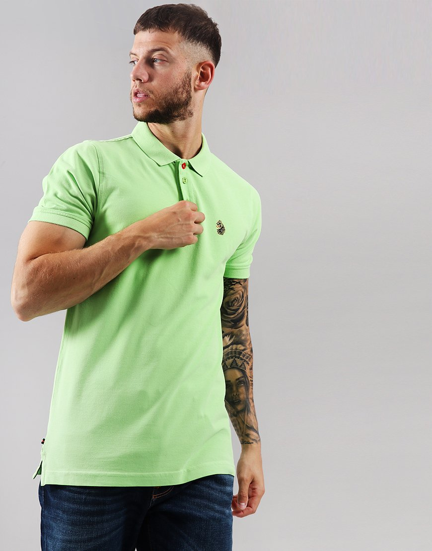 Luke 1977 Williams Polo Shirt Pear Green