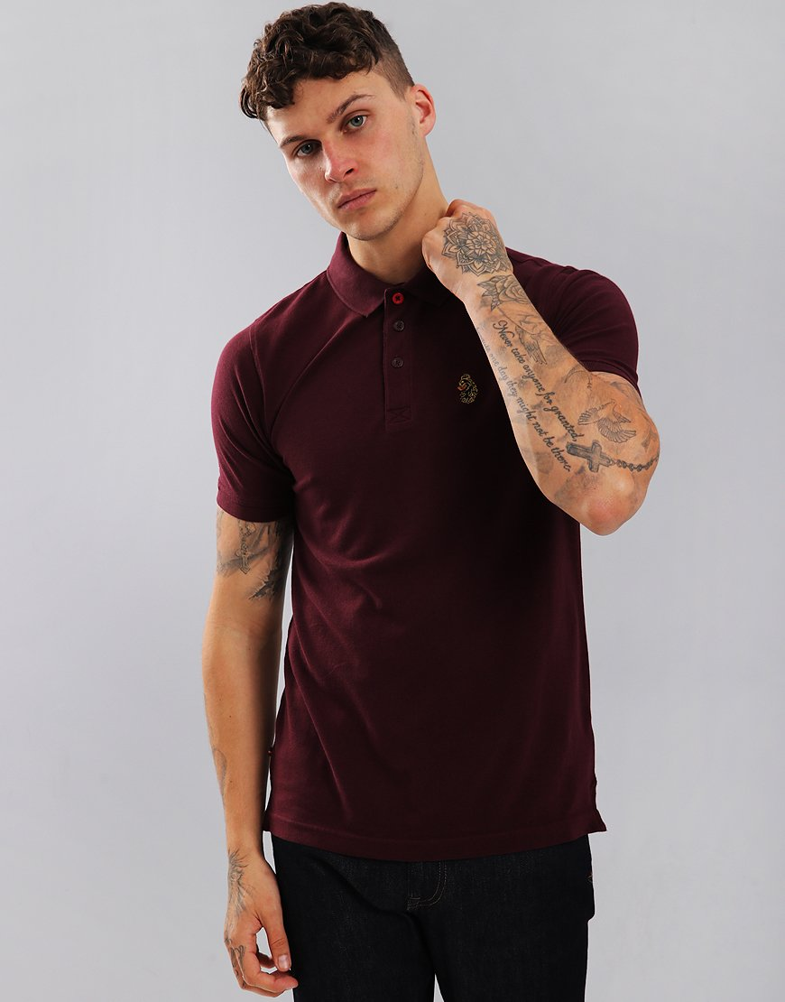 Luke 1977 Williams Polo Shirt Bordeaux