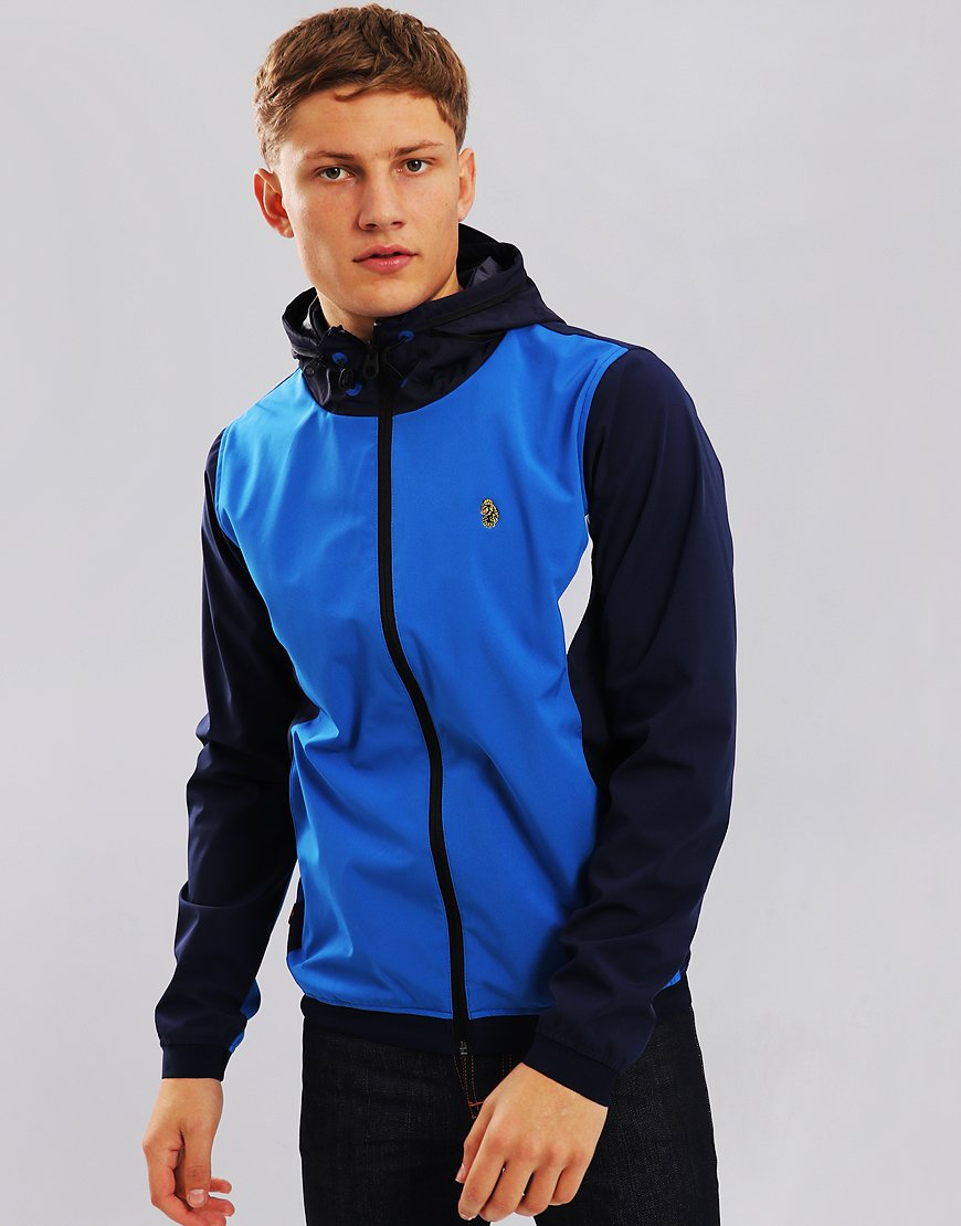 Luke 1977 Ainslie Hooded Jacket Navy