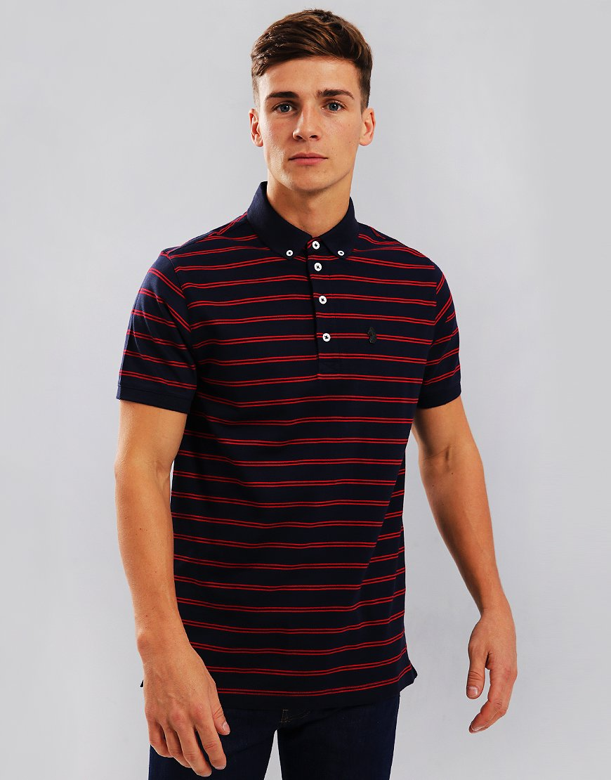 Luke 1977 Jedory Polo Shirt Navy Red