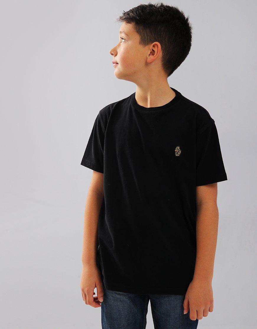 Luke 1977 Junior Hotdog T-Shirt Black
